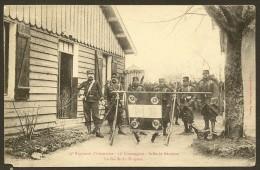 Rare 79° Régiment D'Infanterie 11° Compagnie Salle De Réunion La Garde Du Drapeau - Regiments