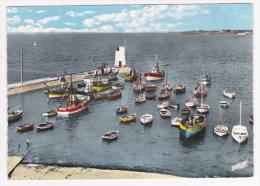 Piriac Sur Mer - Le Port (barques Et Bateaux De Pêcheà L'abris De La Jetée) Circulé 1960 - Piriac Sur Mer