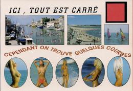 30 -  Carte à Trou, LE GRAU DU ROI - Le Grau-du-Roi