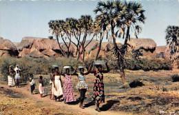 ¤¤  -   3016   -  L'AFRIQUE En Couleur   -  Sur Le Chemin De La Fontaine   -   ¤¤ - Postcards