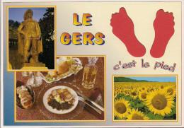 32 -  Carte à Trou, AUCH, LE GERS - Auch