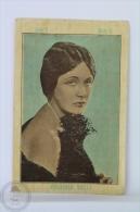 Old Trading Card/ Chromo Topic Cinema/ Movie - Spanish Chocolate Advertising - Actress: Virgina Valli - Chocolate