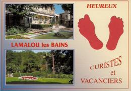 34 -  Carte à Trou, LAMALOU LES BAINS - Lamalou Les Bains