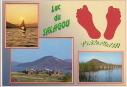 34 -  Carte à Trou, LAC DU SALAGOU - Non Classificati
