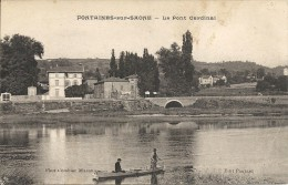 FONTAINE SUR SAONE. LE PONT CARDINAL - France