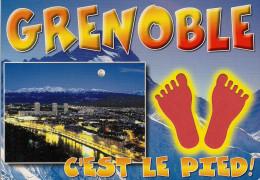38 -  Carte à Trou, GRENOBLE - Grenoble