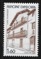ANDORRE FRANCAIS N° 326    -  1983    NEUF - French Andorra