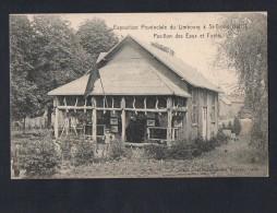 Belgium Exposition Provinciale Du Limbourg St-Trond 1907 Lcarte Postale Vintage Original Postcard Cpa Ak (W4_591) - Sint-Truiden
