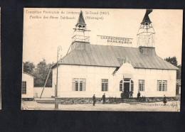 Belgium Exposition Provinciale Du Limbourg St-Trond 1907 Coal Carte Postale Vintage Original Postcard Cpa Ak (W4_592) - Sint-Truiden