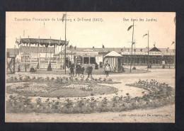 Belgium Exposition Provinciale Du Limbourg St-Trond 1907 Coal Carte Postale Vintage Original Postcard Cpa Ak (W4_593) - Sint-Truiden
