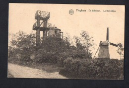Belgium Anzegem - Tieghem - Tiegem - Windmill Le Belvédère Carte Postale Vintage Original Postcard Cpa Ak (W4_602) - Anzegem