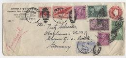 USA Brief 1951 nach Deutschland