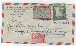 Dominikanische Republik Brief nach Deutschland