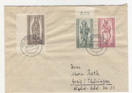 Berlin Michel No. 132 - 134 auf Brief