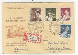 Berlin Michel No. 193 - 196 FDC