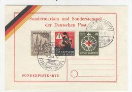 BRD / Berlin Michel No. 162 , 164 , 106 auf Karte / Sondermarken und Sonderstempel
