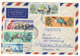 Mongolai Brief nach Deutschland