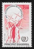 ANDORRE FRANCAIS N° 341    -  1985    NEUF - French Andorra