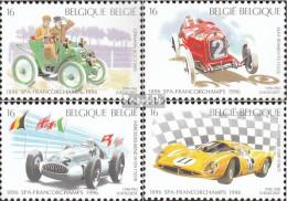 Belgien 2703-2706 (kompl.Ausg.) Postfrisch 1996 Autorennen - Ungebraucht
