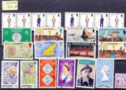 LOT  JERSEY  OBLITERES     MERITE INTERET  COTE  240€ - Collections (sans Albums)