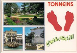 47 -  Carte à Trou, TONNEINS - Tonneins