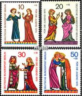 Berlin (West) 354-357 (kompl.Ausgabe) Postfrisch 1970 Jugendmarken - Berlin (West)