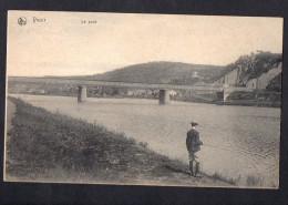 Belgium  Yvoir Le Pont Bridge Carte Postale Vintage Original Postcard Cpa Ak (W4_609) - Yvoir