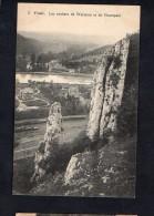 Belgium  Yvoir Les Rocher De Warenne Carte Postale Vintage Original Postcard Cpa Ak (W4_612) - Yvoir