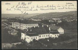 ROMANIA HUNGARY 1911 Deva -View Of Town,vintage Postcard - Rumänien