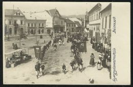 ROMANIA HUNGARY Gyergyoszentmiklos,Gheorgheni -Pilgrimage,street Scene,photo Pc - Rumänien
