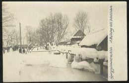 ROMANIA HUNGARY Gyergyoszentmiklos,Gheorgheni -frozen Bekeny Creek,photo Pc - Rumänien