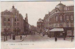 62. ARRAS . LA RUE GAMBETTA . ANIMATION. CARTE PRECURSEUR - Arras