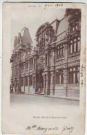62. ARRAS . PORTAIL SUD DE L'HOTEL DE VILLE . ANIMATION. CARTE PRECURSEUR - Arras