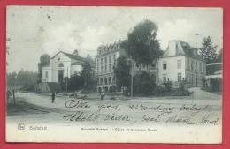 Watermael-Boitsfort - Boitsfort - Nouvelle Avenue - L'Eglise Et La Maison Haute -1907  ( Voir Verso ) - Watermael-Boitsfort - Watermaal-Bosvoorde