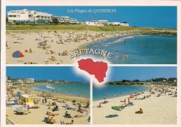 56 -  Carte à Trou Contour Bretagne, QUIBERON - Quiberon