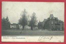 Watermael-Boitsfort - Boitsfort - Place Bisschofsheim - 1907 ( Voir Verso ) - Watermael-Boitsfort - Watermaal-Bosvoorde