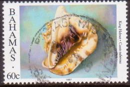 BAHAMAS 1997 SG #1108 60c VF Used Sea Shells Imprint 1997 - Bahamas (1973-...)