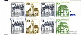 Berlin (West) Mi.-Nr.: MH11h (kompl.Ausg.) Postfrisch 1980 Burgen Und Schlösser - Blocchi