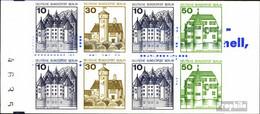 Berlin (West) MH11i (kompl.Ausg.) Postfrisch 1980 Burgen Und Schlösser - Berlin (West)