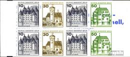 Berlin (West) MH11l (kompl.Ausg.) Postfrisch 1980 Burgen Und Schlösser - Berlin (West)