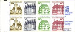 Berlin (West) MH12b (kompl.Ausg.) Postfrisch 1980 Burgen Und Schlösser - [5] Berlino