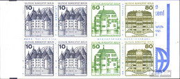 Berlin (West) MH13a MZ Mit Zählbalken (kompl.Ausg.) Postfrisch 1982 Burgen Und Schlösser - [5] Berlino