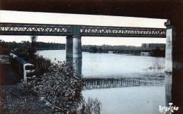 Cpa  ( 17 C. Bleu ) Les Ponts Sur La Charente A Beillant. - France