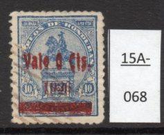 Honduras Rep. 1926 (Dec) 6c/10c Surcharge Double - Used - Honduras
