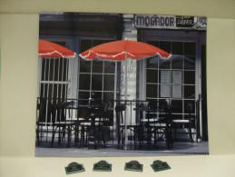 TABLEAU MAGNETIQUE Terrasse De Café + MAGNETS Rues De Paris - Neuf - Tourisme