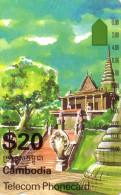 CAMBODGE CAMBODIA TEMPLE ICM 3-1 TAMURA OTC 20$ NEUVE MINT RARE - Cambodia