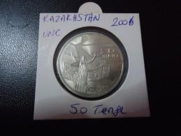 2006 KAZAKHSTAN RARE 50 TENGE ( 20th ANNIVERSARY )  - UNC - - Kazakhstan