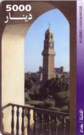 IRAQ CHIP CARD A PUCE EGLISE 5000 D NEUVE MINT - Iraq