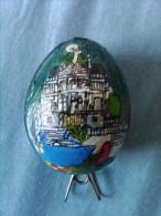 Hühnerei Mit Motiv : Schloss Linderhof (handbemalt) - Kreative Hobbies