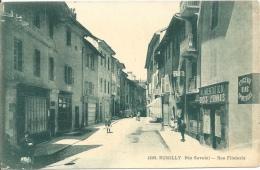 74 - RUMILLY - Haute-Savoie - Rue Filaterie - Alimentation Docks Lyonnais - Rumilly